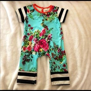 Floral Onesie Romper for 12-18 months. New wo tag